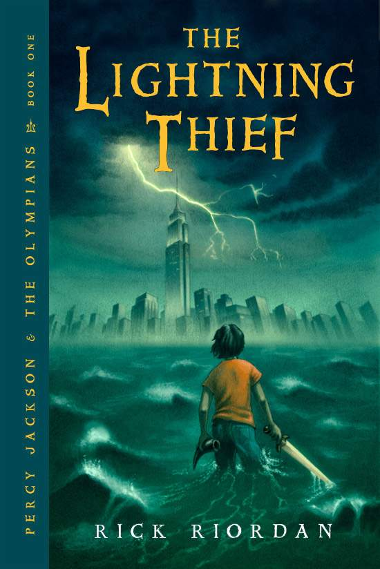 The Lightning Thief Cover